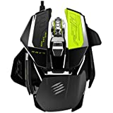 Mad Catz R.A.T. PRO X Ultimate Gaming Mouse with Philips PLN2037 twin-eye laser Sensor Module for PC