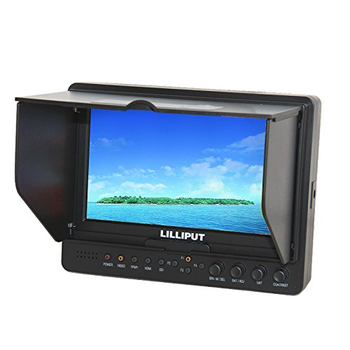 Lilliput 7 Inch 665/O/P Filed Monitor Hdmi Input Output 1024×600