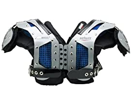 Schutt 800855 Air Maxx Flex OL/DL Adult Football Shoulder Pads (Call 1-800-327-0074 to order)