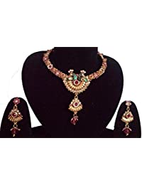 This Beautiful Gold Plated Necklace Set Of Very Fine Quality