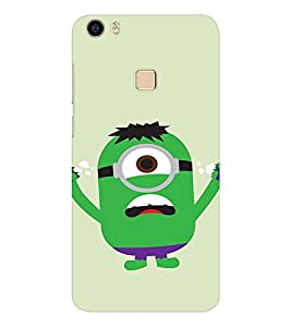 EPICCASE Superhero Minion Mobile Back Case Cover For Vivo V3 Max (Designer Case)