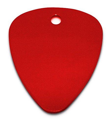 Graviertespersonalisiertes-eloxiert-Guitar-PickPlektrum-in-Geschenkbeutel-c8red