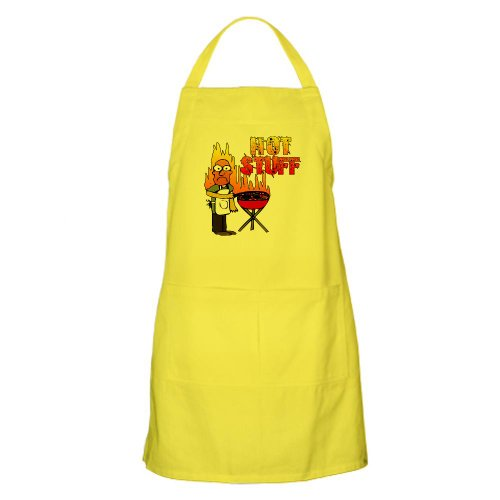 Cafepress Mr. Hot Stuff BBQ Apron - Standard