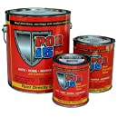 POR-15 45404 Semi Gloss Black Rust Preventive Paint - 1 Quart