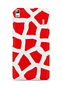 Amez designer printed 3d premium high quality back case cover for Lenovo A7000 (Animalistic Pattern)