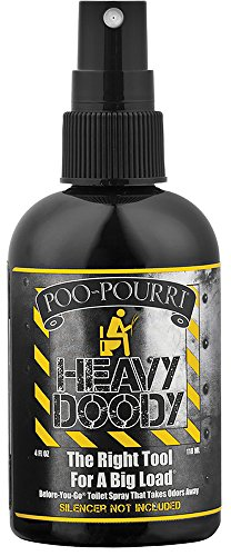 Poo-Pourri Before-You-Go Toilet Spray 4-Ounce Bottle, Heavy Doody