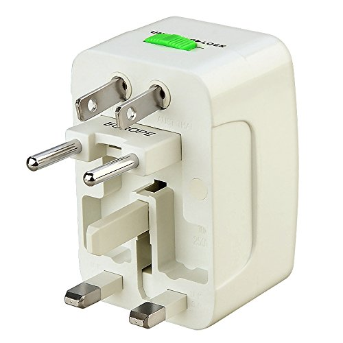Eforcity 272897 All-In-One Travel Power Plug Adapter