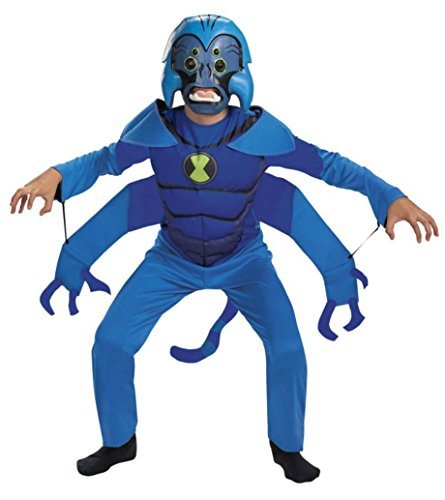 Boys Spider Monkey Ben 10 Kids Child Fancy Dress Party Halloween Costume