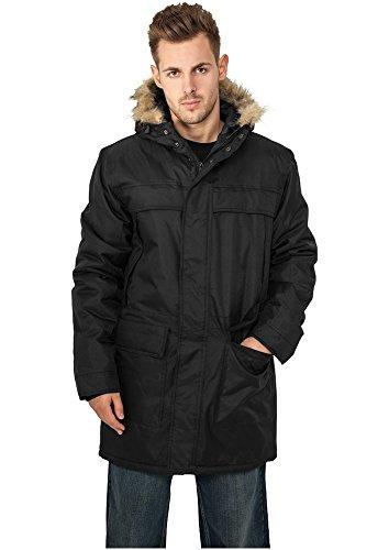 Urban Classics giacca INVERNALE Parka, colore: Nero; Taglia L