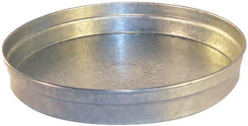 Speedi-Products SM-CAP 16 16-Inch Diameter Round Galvanized Caps Length Large End