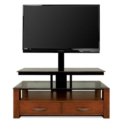 410lEwanvaL BellO TPC361 AV System Up To 55 Inch or 125 lbs (Dark Cherry)