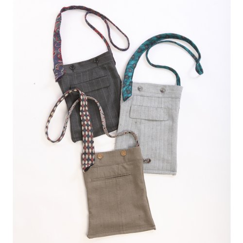 Suit and Tie Sling Bag