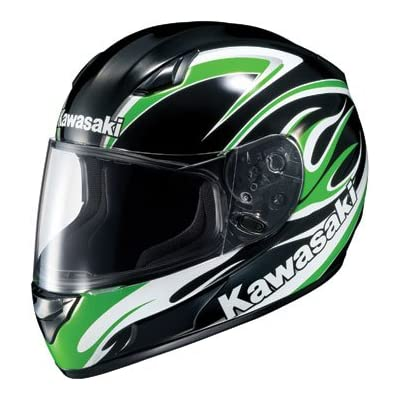 Helmet To Match Kawasaki Green