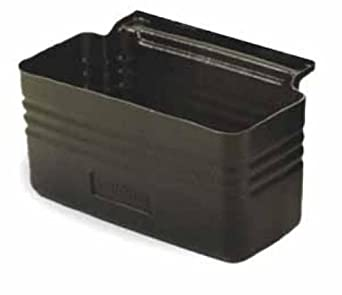 Continental 5811BK Black Silverware Bin for 5810 Cart
