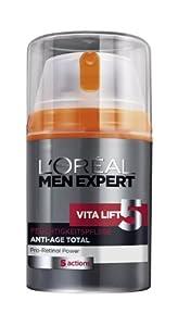 L'Oréal Paris Men Expert Vita Lift 5 Anti-Age Total, Feuchtigkeitspflege, 50 ml