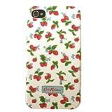キャスキッドソン Cath Kidston iPhone4用ケース Electric Flowers (ミニストロベリー)