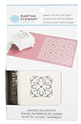 Martha Stewart Crafts All Over The Page Punch, Country Tile