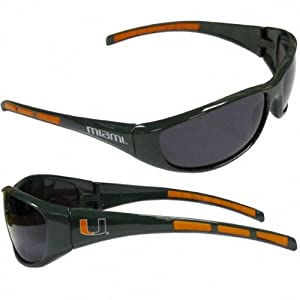 Buy Miami Hurricanes Sunglasses UV 400 Protection NCAA Licensed Product by Siskiyou