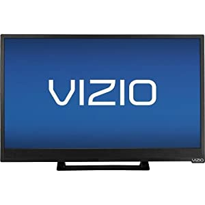VIZIO E241i-B1 24-Inch 1080p Smart LED HDTV (Black)(Certified Refurbished)