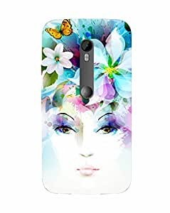 Back Cover for Moto X Force CHARMI FACE