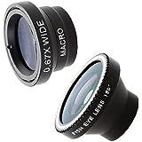 Patuoxun Camera Lens Kit for iPhone 4G 4S iPad Mobile Phones (Fish Eye Lens, Wide Angle, Micro Lens)