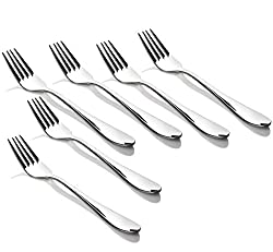 King International-Stainless Steel Cutlery Small Fork set of 6