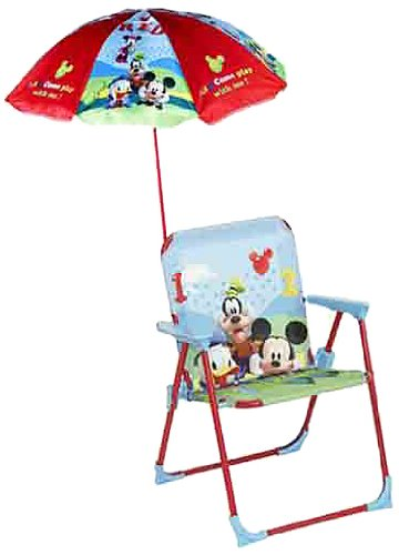 Opiniones de color baby silla infantil mickey club house for Silla plegable infantil