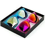 Fashion Eyewear Wayfarer Style Multi-Color Sunglasses