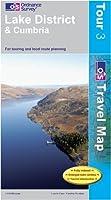 Lake District (OS Travel Map - Tour Map), Ordnance Survey