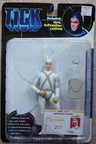 The Tick Arthur Action Figure