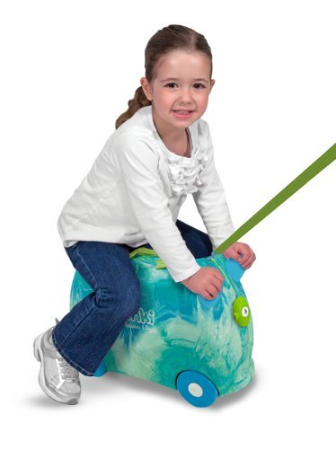 Melissa & Doug Trunki Swizzle (Blue/Green) Color: Blue Toy, Kids, Play, Children