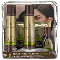 Macadamia Professional Gift Sets (Nourishing Moisture Shampoo 100ml Nourishing Moisture Conditioner 100ml Nourishing Moisture Oil Treatment 30ml & Nourishing Moisture Mask 30ml)
