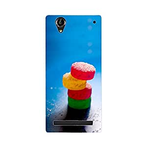 Skintice Designer Back Cover with direct 3D sublimation printing for Sony Xperia T2/T2 Ultra