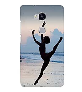 Vizagbeats dance at beach Back Case Cover for Huawei Honor 5X