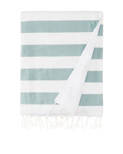 """Nine Space Deck Beach Towel, Teal, 38 x 60"""""""