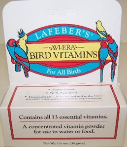 Lafebers Bird Vitamins Powdered 1.25oz