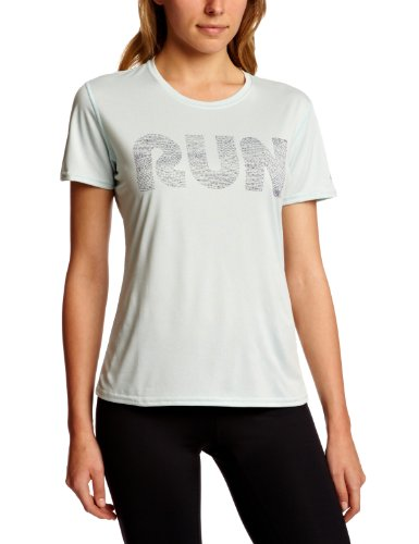 Brooks Women's EZ T II Run Mist Short Sleeve Running Top