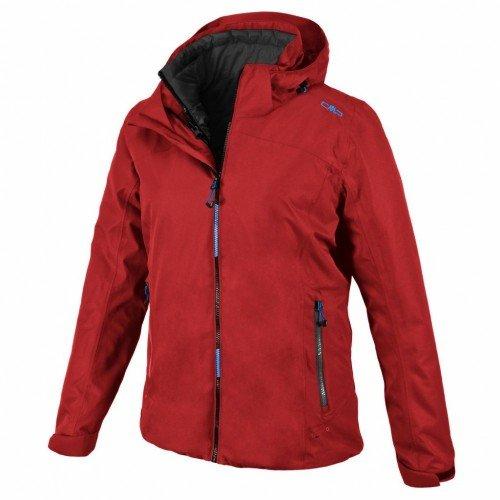 CMP Woman Jacket Zip Hood Twill 3 in 1 Jacket Malboro / Antracite Hawaii günstig kaufen