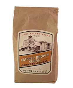 Lehi Roller Mills Maple & Brown Sugar Germade Cereal, 3-Pound Bags (Pack of 2)