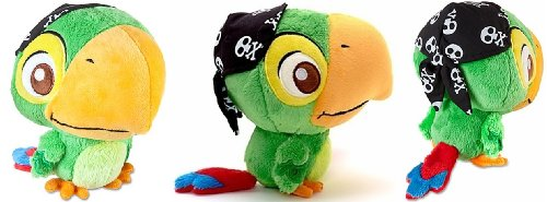 "Disney Store Disney Junior Jr. Jake And The Never Land/Neverland Pirates 8"" Skully Plush Stuffed Doll Toy Gift front-939787"