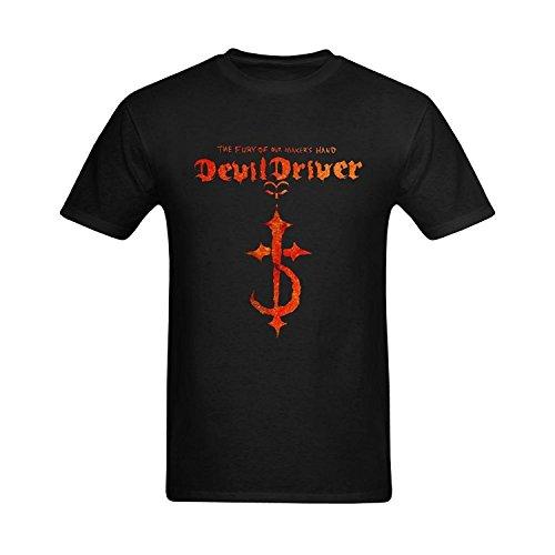 Men's Devildriver Heavy Metal Logo T-shirt