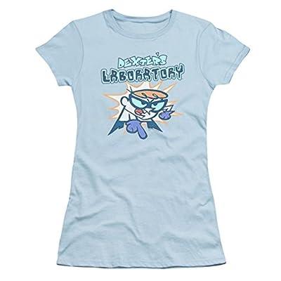 Dexter's Laboratory What Do You Want Ladies Junior Fit T-Shirt