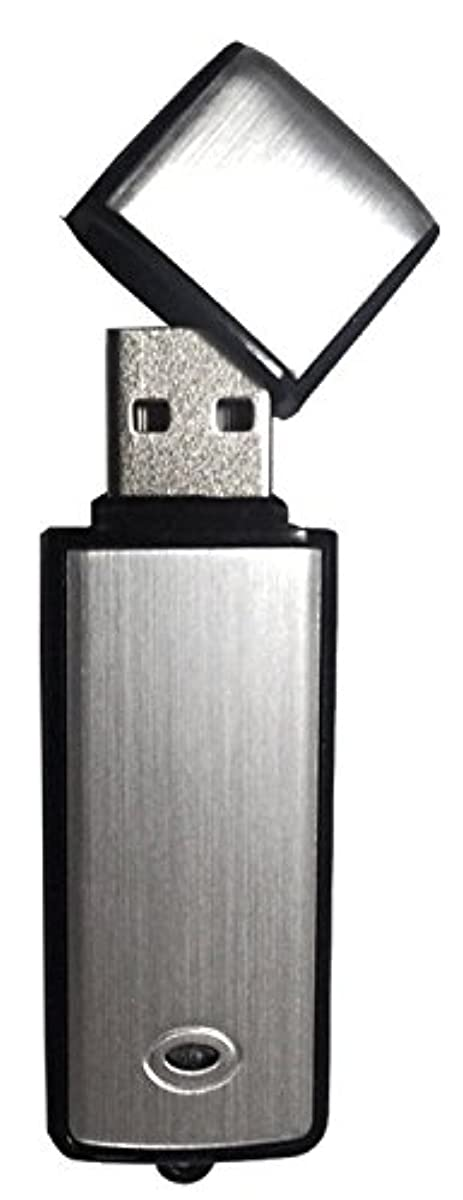 [해외] 【BERYKOKO】 보이스 레코더 USB메모리형 8GB 실버 모델 WINDOWS 7 / 8 / 8.1 / 10 동작 확인 완료 일본어 설명서부 【정규품/18개월 보증】-BERYKOKO-0237