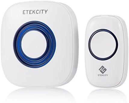 Etekcity Wireless Doorbell Kit w/ 52 Chimes