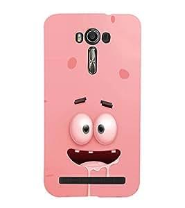 EPICCASE Cartoon face cover Mobile Back Case Cover For Asus Zenfone 2 Laser ZE550KL (Designer Case)