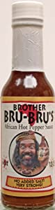African Hot Sauce 5 Ounces from Brother Bru-Bru's