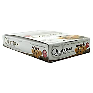 Quest Nutrition - Questbar Chocolate Chip Cookie Dough, 12 bars from Quest Nutrition
