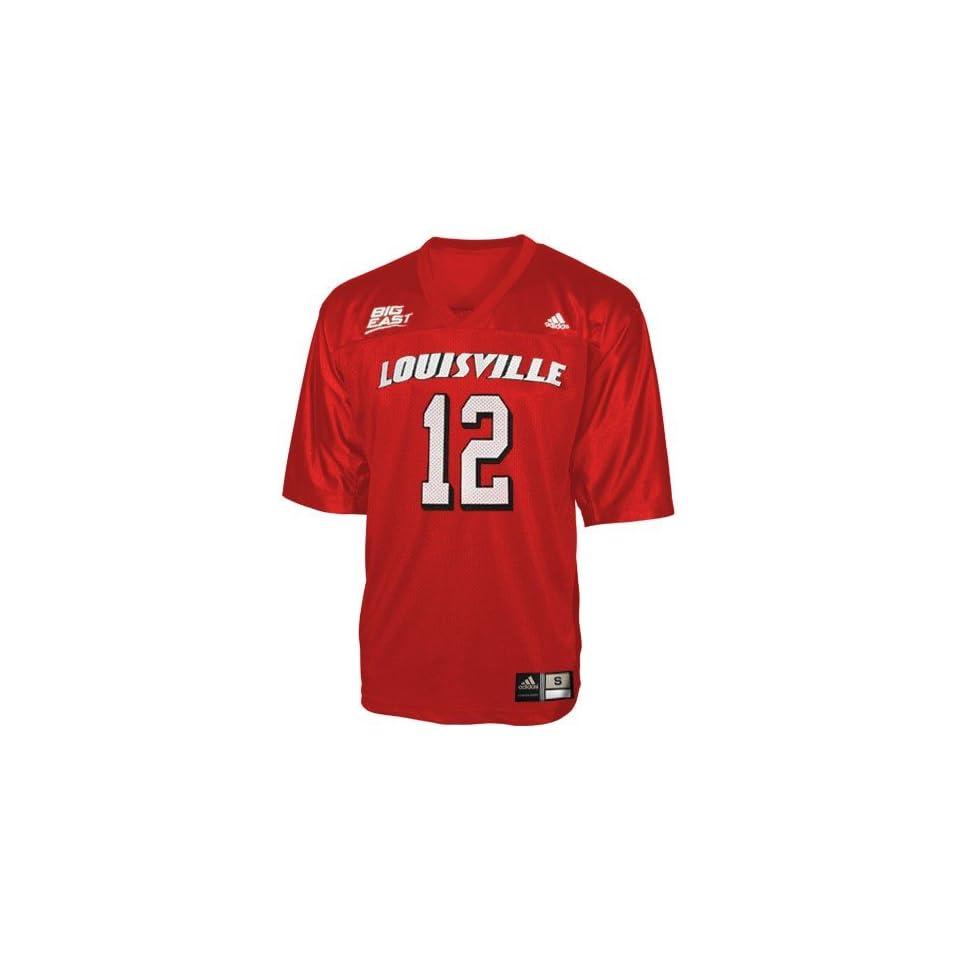 Adidas Louisville Cardinals #12 Red Infant Replica Football