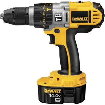 Factory-Reconditioned Dewalt DCD930KXR 14.4V XRP Cordless 1/2 in. Hammer Drill Kit
