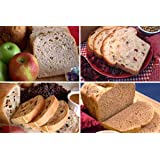 Fruit & Nut Collection Bread Machine Mixes (Cranberry Nut, California Raisin, Knobby Apple & Prairie Sunflower)